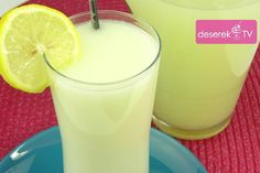 Lemoniada Brazylijska przepis Glass Of Milk, Drinks, Recipes, Food, Drinking, Beverages, Essen, Drink, Eten
