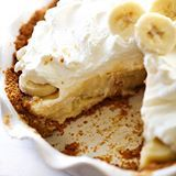 (Direct link in profile) This Best Ever Banana Cream Pie is truly INCREDIBLE! It has a homemade graham cracker crust, delicious banana cream filling and topped with whipped cream. It is perfect for any occasion! #chefintraining #chefintrainingblog #huffposttaste #dessert #pie #bananacream #bananacreampie