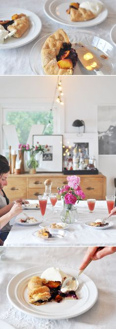 summer up: bringing the summer picnic inside. / sfgirlbybay I'm being so obnoxious in pinning all of these, but I love the ideas!!