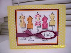 Chic Boutique Birthday by D. Daisy - Cards and Paper Crafts at Splitcoaststampers