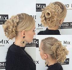 Penteado inspirado em uma flor #byJoshuaGabriel