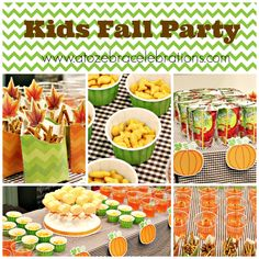 Kids Fall Party #parties #kids