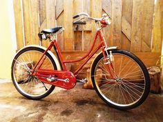 bicicleta antigua de la década del 50´