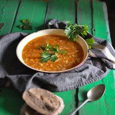 Ajnpren juha - Croatian egg drop soup that's so quick and easy to make.