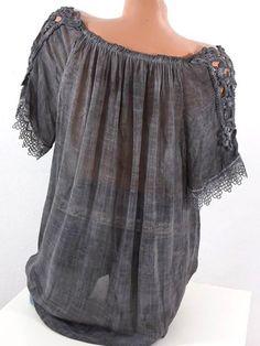 Chiffon Sexy Off-the-shoulder Ruffle Short Sleeves Blouse shirt Tops –  chicboho Casual Fashion b6b93d84cb70