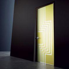 Modern Painted Interior Doors 30 creative interior door decoration ideas personalizing home