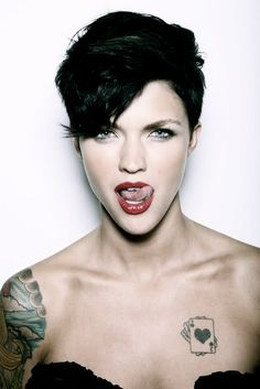 Ruby Rose...xxx ...I love her if only she was nt batting for the other side !