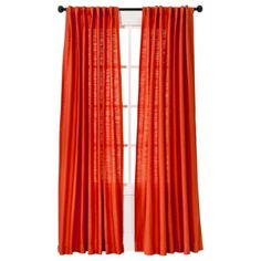 104 Best Curtains Red And Orange Images Curtains Panel