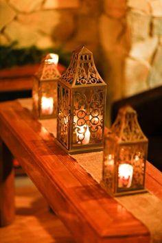 Lanterns and votives