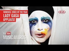 """I voted for Lady Gaga's """"Applause"""" to win Video of the Year at the YouTu..."""