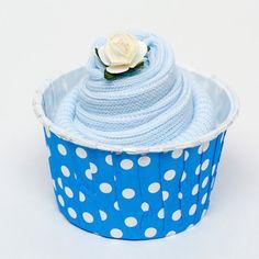 Single Pair Baby Socks Cupcake for a Baby Boy