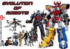 Evolution of robots