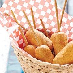 how to make homemade mini corn dogs