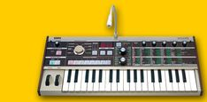 Serious synthesizer and vocoder functionality in a compact package --- the microKORG.
