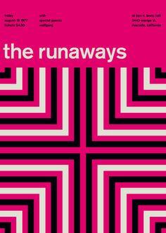 the runaways at ben lewis hall, 1977