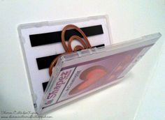 Magnetic Die Storage Tip by Sharon Callis. Using Xyron Magnetic Tape www.sharoncalliscrafts.blogspot.com
