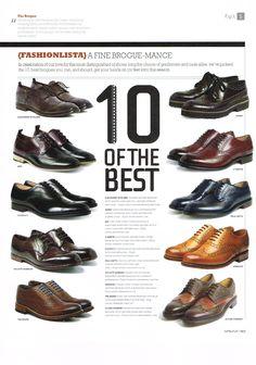 Ted Baker Footwear in Winq Magazine 07.03.14