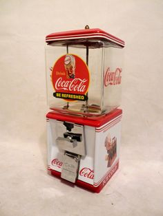 Vintage Northwestern Coca Cola gumball glass globe spirit boy
