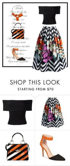 """""""Untitled #58"""" by lisa-church ❤ liked on Polyvore featuring T By Alexander Wang, Chicwish, Proenza Schouler, Charles by Charles David and One Button"""