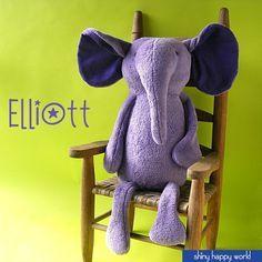 Elliott the Elephant Pattern