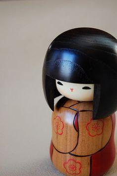 A beautiful Japanese Kokeshi Doll