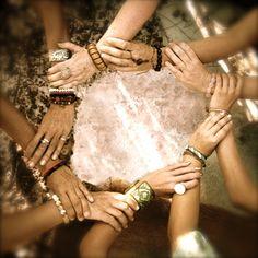 women in circle images Photo Main, Elfa, Sacred Feminine, Soul Sisters, Wedding Humor, Animal Tattoos, Wicca, Instagram, Photography