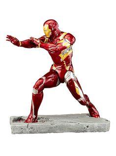 Kotobukiya Marvel Captain America: Civil War: Iron Man Mark 46 ARTFX+ Statue,