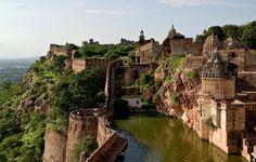 Réservoir du Fort Chittorgarh, Rajasthan, Inde