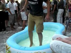 Non-Newtonian Fluid Pool Party