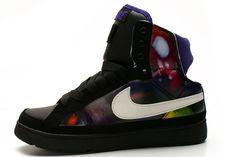 Nike Air Troupe Mid Womens Dance Shoe White Black 968e69316