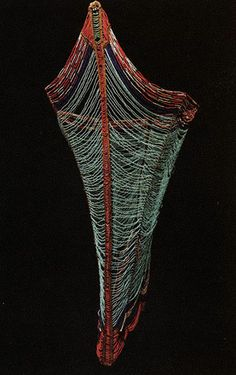 Man's corset and apron, 20th century Sudan, Dinka people Glass seed beads, metal, bast fiber 100 x 68 cm