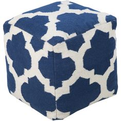 POUF-156 - Surya   Rugs, Pillows, Wall Decor, Lighting, Accent Furniture, Throws