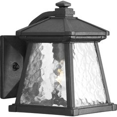 Progress Lighting P5906-31 Mac Black Aluminum 1-light Wall Lantern (Black)