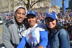 2015 Kansas City Royals World Series Champs.... Downtown Parade... SALVY