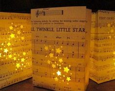 Music Luminary Centerpiece.