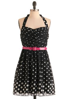 @Briana Zizic thought of you when saw this... Criterion for Karaoke Dress | Mod Retro Vintage Dresses | ModCloth.com