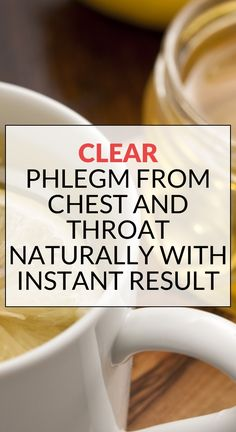 Clear Phlegm from Chest and Throat Naturally with Instant ResultClear remedies Cough Remedies For Adults, Home Remedy For Cough, Cold Home Remedies, Flu Remedies, Herbal Remedies, Best Cough Remedy, Homemade Cough Remedies, Sleep Remedies, Diets