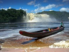 Canaima, Venezuela.  Paradise!  Been there, want to go back!