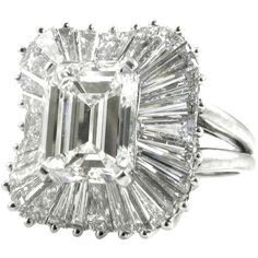A Ballerina Mount Diamond Ring - Kentshire Galleries