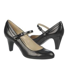 52fb118ae300 Naturalizer Orianne Shoes (Black Leather Shiny) - N