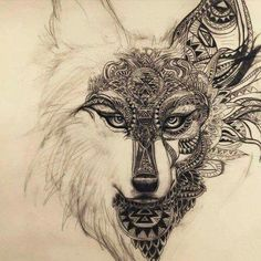 This would make an absolutely gorgeous back or thigh piece