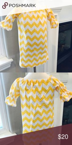 🌸 Adorable Yellow Dress Excellent Used Condition boutique Dresses Casual