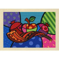 Holiday Traditions Rosh Hashanah Cards.  Designed by Ilana Landau.