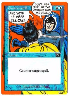 Funny MTG Magic the Gathering Counter Spell