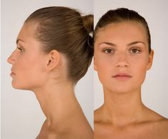 woman faces side view - Google Search
