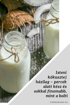 Yummy Drinks, Healthy Drinks, Paleo, Keto, How To Make Homemade, Glass Of Milk, Liquor, Vegan, Cooking