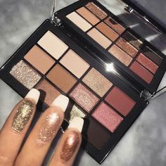 21 Gorgeous makeup palette inspiration - eyeshadow palette , blush - Hair and Beauty eye makeup Ideas To Try - Nail Art Design Ideas Cute Makeup, Gorgeous Makeup, Pretty Makeup, Awesome Makeup, Make Up Palette, Beauty Blogs, Beauty Make-up, Beauty Photos, Beauty Nails