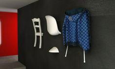 idée vintage porte manteau meubles mur