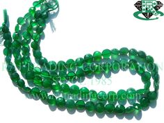 Green Onyx Faceted Coin (Quality A) Shape: Coin Faceted Length: 36 cm Weight Approx: 15 to 17 Grms. Size Approx: 6.5 to 9 mm Price $13.60 Each Strand