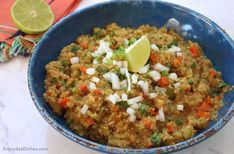 Mexican quinoa recipe